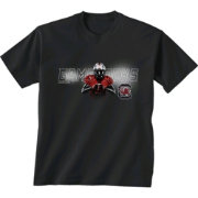 New World Graphics Youth South Carolina Gamecocks Player Black T-Shirt