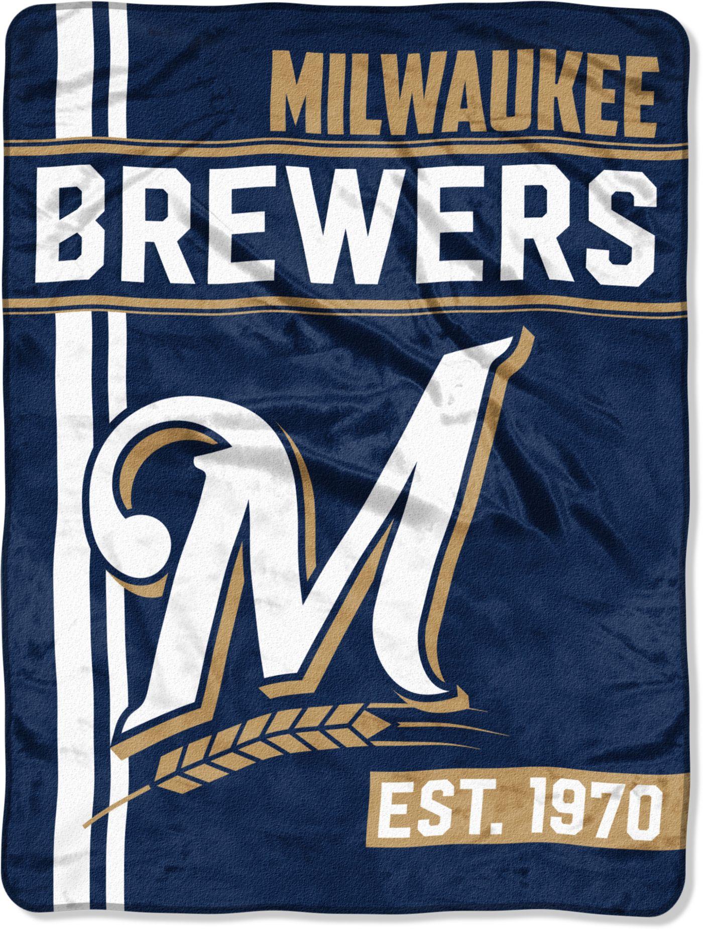 Northwest Milwaukee Brewers Walk Off Micro Raschel Throw