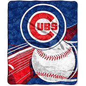 Northwest Chicago Cubs Big Stick Sherpa Throw