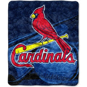 Northwest St. Louis Cardinals Big Stick Sherpa Throw