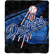 Northwest Los Angeles Dodgers Big Stick Sherpa Throw