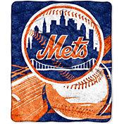 Northwest New York Mets Big Stick Sherpa Throw