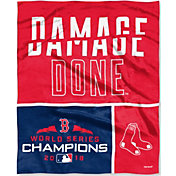 Northwest 2018 World Series Champions Boston Red Sox 'Damage Done' Silk Touch Blanket