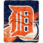 Northwest Detroit Tigers Big Stick Sherpa Throw
