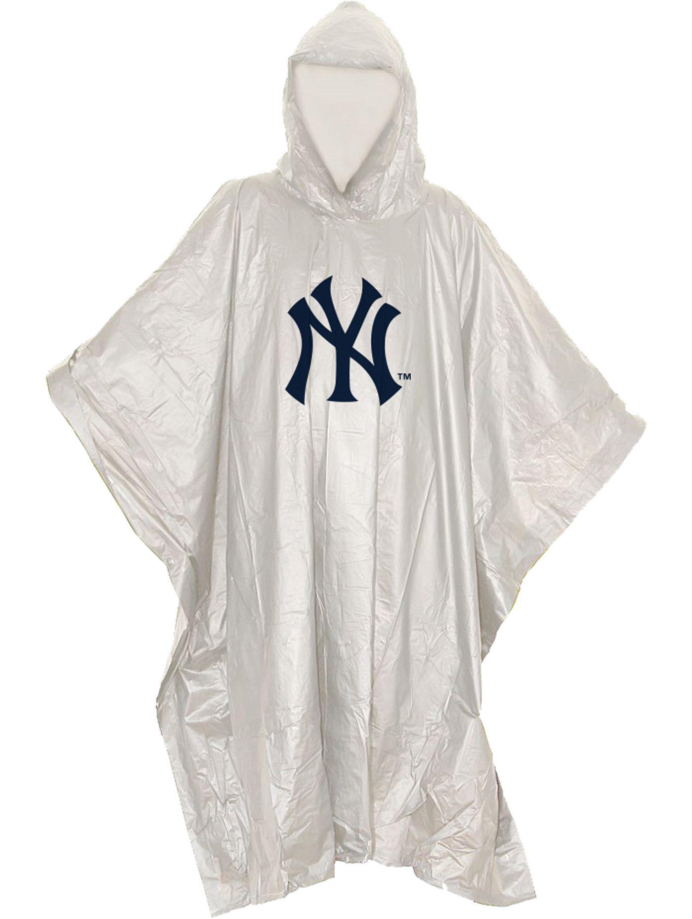 Northwest New York Yankees Clear Poncho