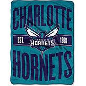 "Northwest Charlotte Hornets ""Halftone"" Micro Raschel Throw"