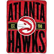 "Northwest Atlanta Hawks ""Halftone"" Micro Raschel Throw"