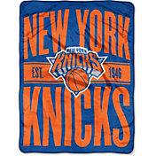 "Northwest New York Knicks ""Halftone"" Micro Raschel Throw"