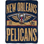 "Northwest New Orleans Pelicans ""Halftone"" Micro Raschel Throw"