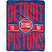 "Northwest Detroit Pistons ""Halftone"" Micro Raschel Throw"