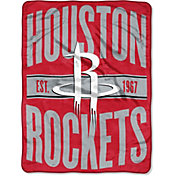 Northwest Houston Rockets 'Halftone' Micro Raschel Throw