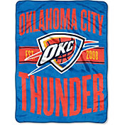 "Northwest Oklahoma City Thunder ""Halftone"" Micro Raschel Throw"
