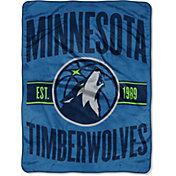 "Northwest Minnesota Timberwolves ""Halftone"" Micro Raschel Throw"