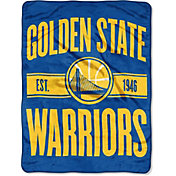 "Northwest Golden State Warriors ""Halftone"" Micro Raschel Throw"