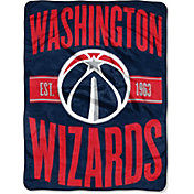 "Northwest Washington Wizards ""Halftone"" Micro Raschel Throw"