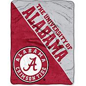 "Northwest Alabama Crimson Tide ""Halftone"" Micro Raschel Throw"