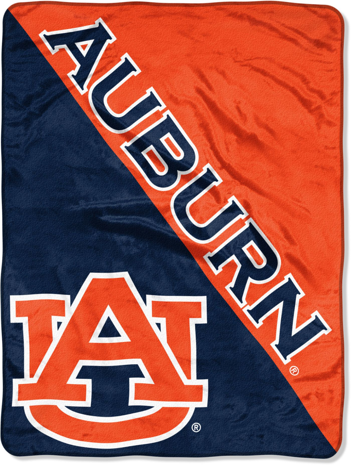 "Northwest Auburn Tigers ""Halftone"" Micro Raschel Throw"