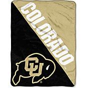 "Northwest Colorado Buffaloes ""Halftone"" Micro Raschel Throw"