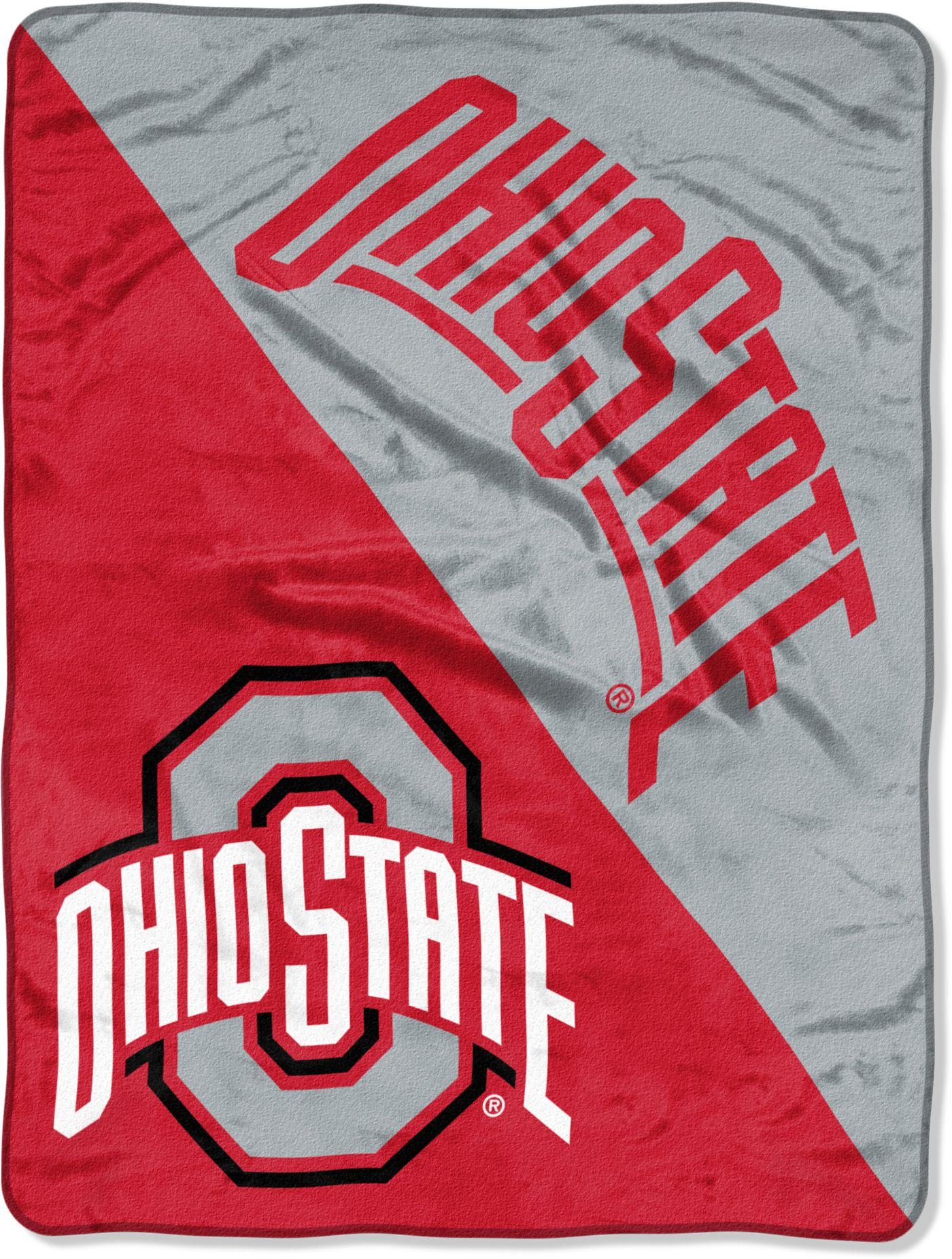 "Northwest Ohio State Buckeyes ""Halftone"" Micro Raschel Throw"