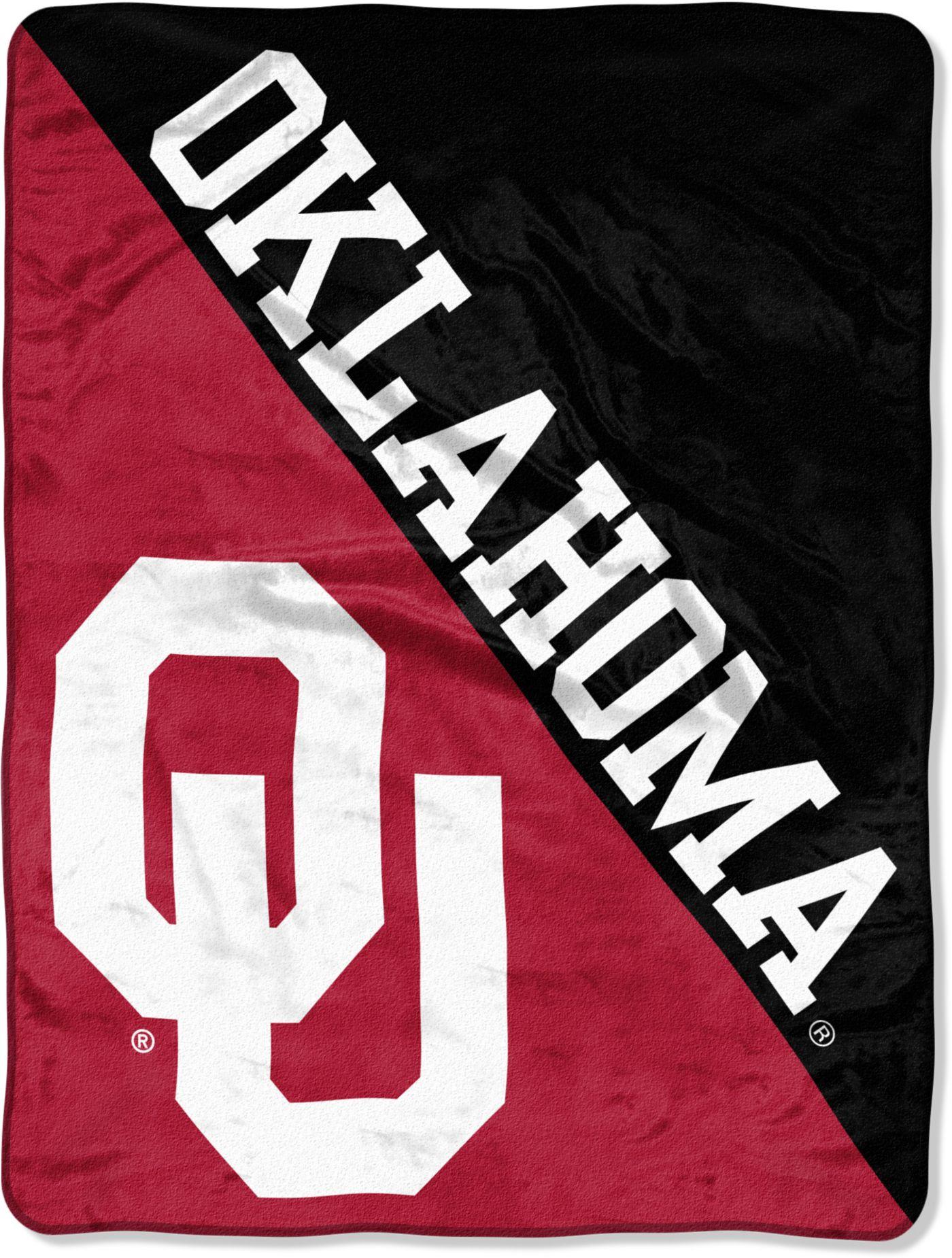 """Northwest Oklahoma Sooners """"Halftone"""" Micro Raschel Throw"""