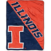 "Northwest Illinois Fighting Illini ""Halftone"" Micro Raschel Throw"