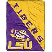 "Northwest LSU Tigers ""Halftone"" Micro Raschel Throw"