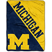 "Northwest Michigan Wolverines ""Halftone"" Micro Raschel Throw"