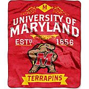 "Northwest Maryland Terrapins ""Halftone"" Micro Raschel Throw"