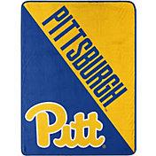 "Northwest Pittsburgh Panthers ""Halftone"" Micro Raschel Throw"