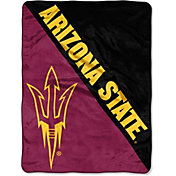 "Northwest Arizona Wildcats ""Halftone"" Micro Raschel Throw"