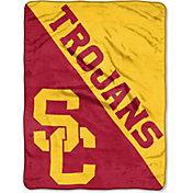"Northwest USC Trojans ""Halftone"" Micro Raschel Throw"