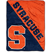 "Northwest Syracuse Orange ""Halftone"" Micro Raschel Throw"