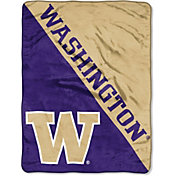 "Northwest Washington Huskies ""Halftone"" Micro Raschel Throw"