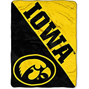 Northwest Iowa Hawkeyes 'Halftone' Micro Raschel Throw