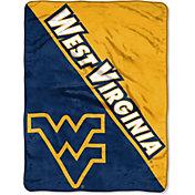 "Northwest West Virginia Mountaineers ""Halftone"" Micro Raschel Throw"