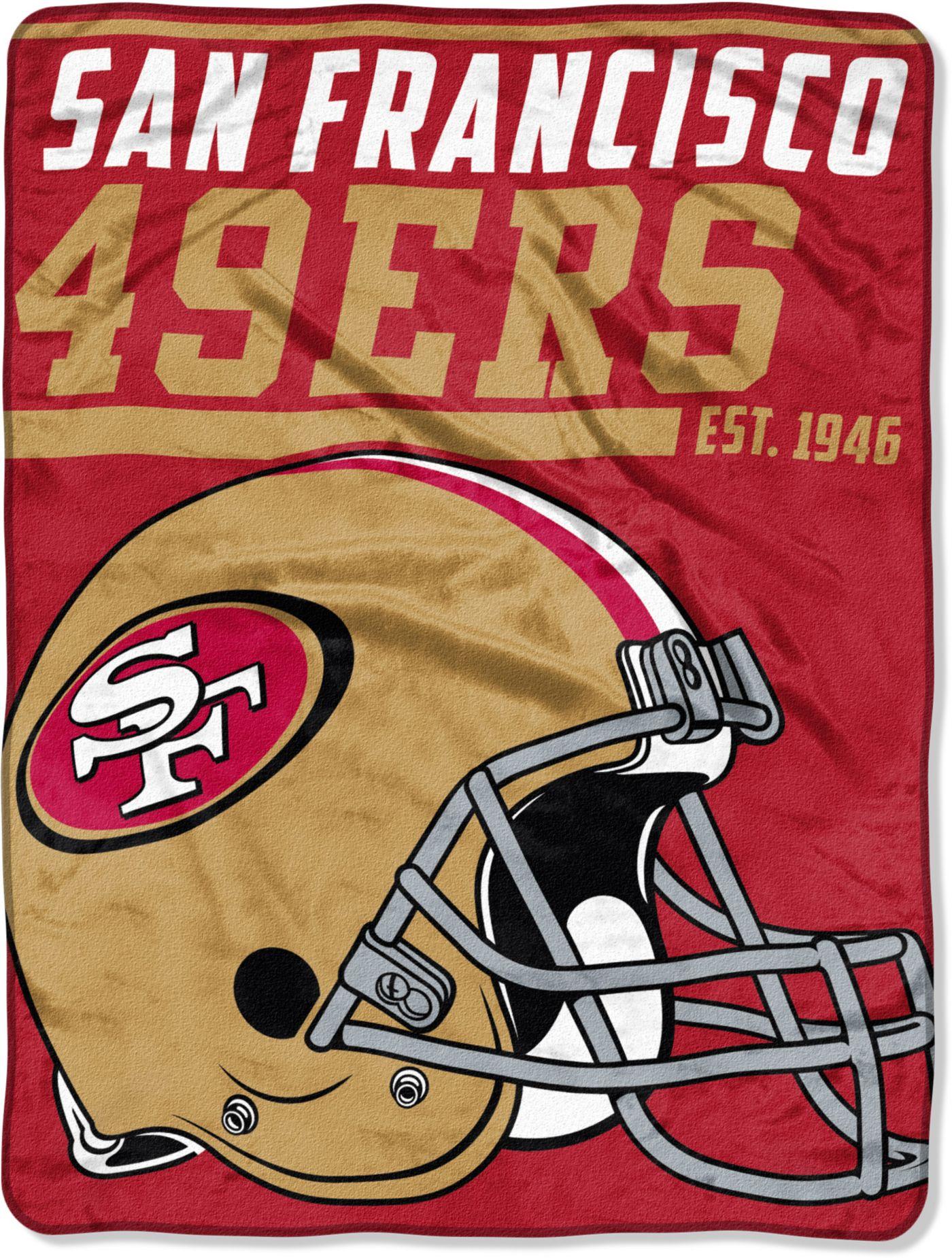 "Northwest San Francisco 49ers ""Halftone"" Micro Raschel Throw"