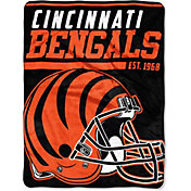 "Northwest Cincinnati Bengals ""Halftone"" Micro Raschel Throw"