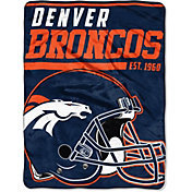 "Northwest Denver Broncos ""Halftone"" Micro Raschel Throw"