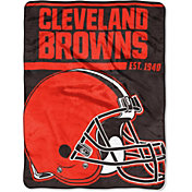 """Northwest Cleveland Browns """"Halftone"""" Micro Raschel Throw"""