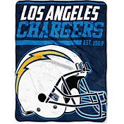 "Northwest Los Angeles Chargers ""Halftone"" Micro Raschel Throw"