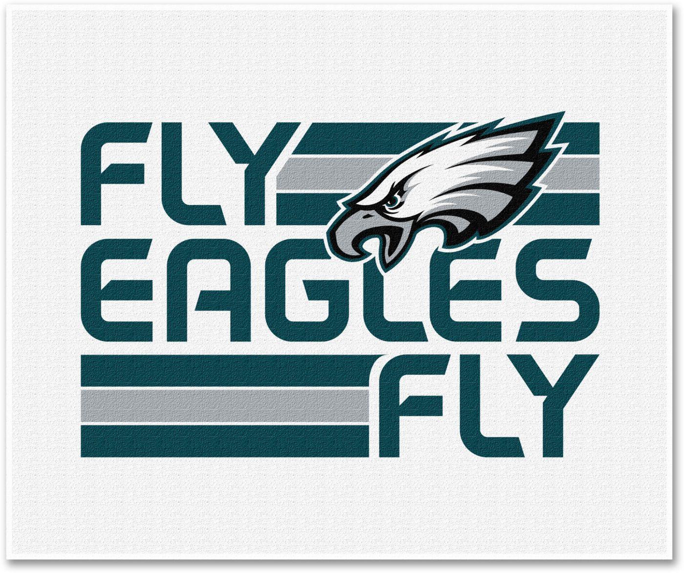 Northwest Philadelphia Eagles Fly Eagles Fly White Towel