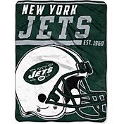 "Northwest New York Jets ""Halftone"" Micro Raschel Throw"