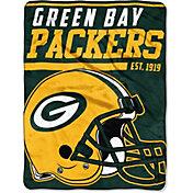 "Northwest Green Bay Packers ""Halftone"" Micro Raschel Throw"