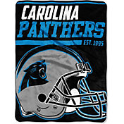 "Northwest Carolina Panthers ""Halftone"" Micro Raschel Throw"