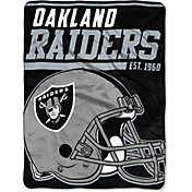 "Northwest Oakland Raiders ""Halftone"" Micro Raschel Throw"