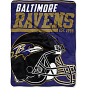 "Northwest Baltimore Ravens ""Halftone"" Micro Raschel Throw"