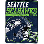 "Northwest Seattle Seahawks ""Halftone"" Micro Raschel Throw"