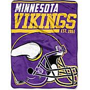 "Northwest Minnesota Vikings ""Halftone"" Micro Raschel Throw"