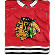 Northwest Chicago Blackhawks Jersey Raschel Throw