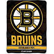 Northwest Boston Bruins 'Halftone' Micro Raschel Throw
